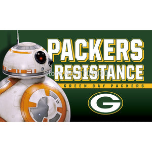 Green Bay Packers flag Resistance World Series Football Team 3ft X 5ft Banner Super Bowl Champions Green Bay Packers flag