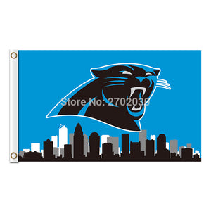 City Country Carolina Panthers Flag Football Team 3ft X 5ft Banners Super Bowl Champions Carolina Panthers Banner