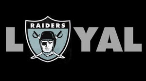 Oakland Raiders Flag 90 * 150 CM Black Sports Fan Team Banner 3ft X 5ft Polyester Hand Printed Custom Flags