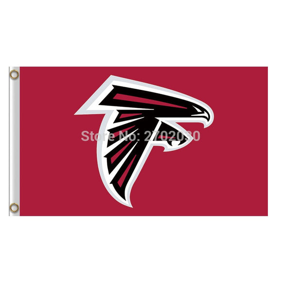 Atlanta Falcons Logo Flag World Series Football Team Fan 3ftx5ft Banner 100D Polyester Atlanta Falcons Flag