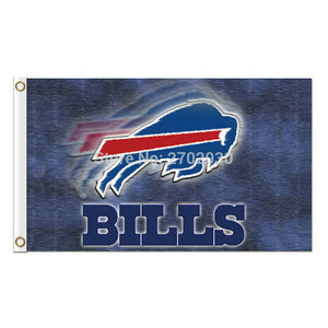 Buffalo Bills Flag Premium Team colors Super Bowl Champions 3ft X 5ft Banner World Series Custom Bills Flags