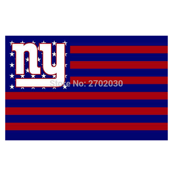 America Design Usa New York Giants Flag Banners Football Team Flags 3x5 Ft Super Bowl World Champions Banner Decoration Country