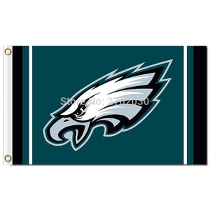 Philadelphia Eagles Banners Super Champions World Series 3ft X 5ft Custom Premium Team Philadelphia Eagles Flag
