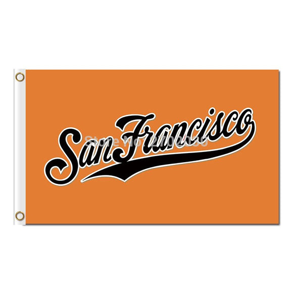 TEXT San Francisco Giants Flag World Series Champions Baseball Cub Fan Team Flags Banner 3x5 Ft Polyester Custom Banners