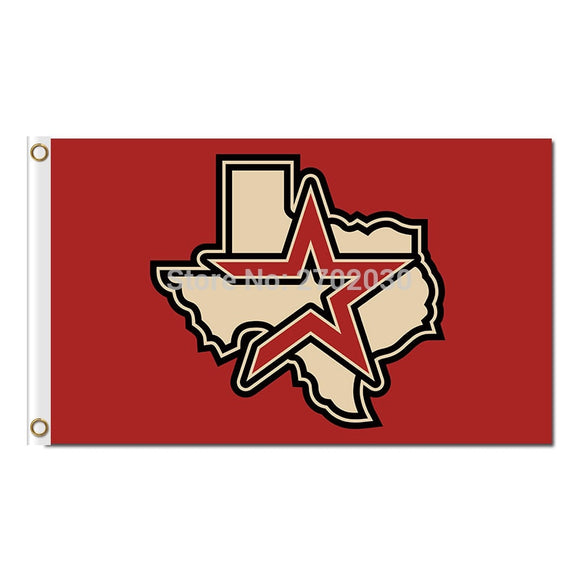 Red Star Design Houston Astros Flag Baseball Super Fans Team Banners Sport Flags World Series Champions Banner 3 X 5 Ft Astros
