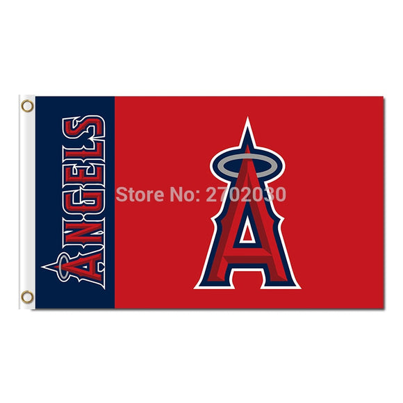 Angels Design Los Angeles Angels Of Anaheim Flag Banner World Series Champions Baseball Cub Fan Team Flags 90x150cm Banners