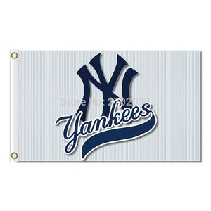New York Yankees Flag baseball World Series Champions Super Fans Team Flags 3x5ft Banner 90x150cm 100D Polyester