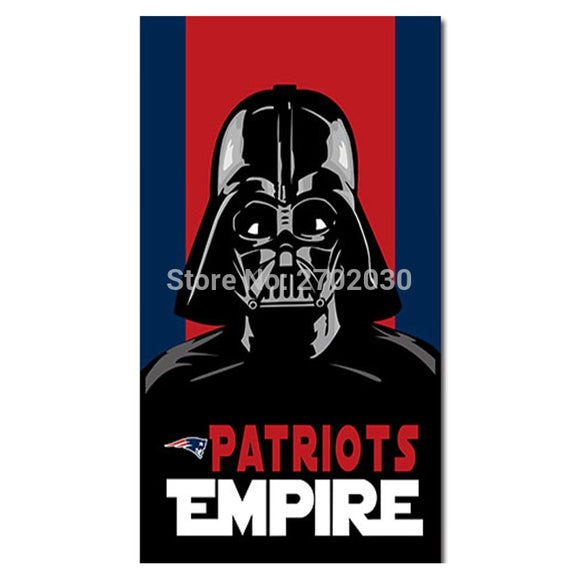 Empire New England Patriots Flag Custom Football Team 3ft X 5ft World Series Super Bowl Champions Empire Patriots Banner