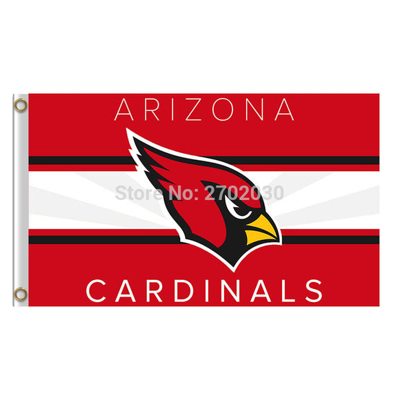 Arizona Cardinals Banner Flag Red World Series Banner Super Bowl Champions Custom Football Team Arizona Cardinals Flag