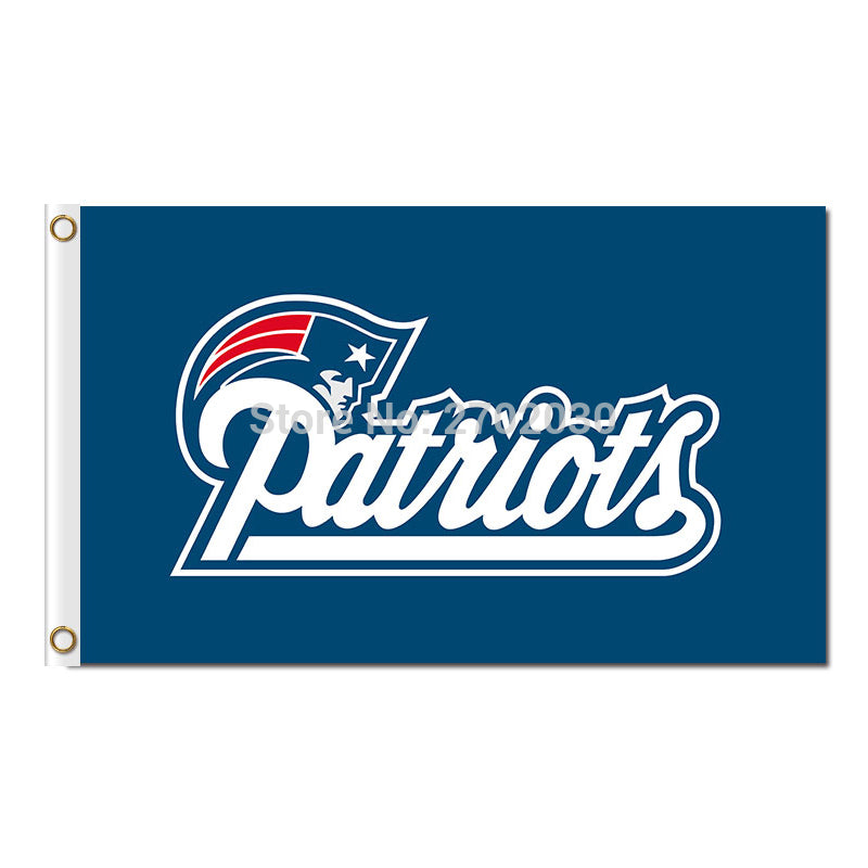 Patriots Flags Football Sport Team Banners 90 X 150 Cm World Series Banner Super Bowl Champions New England Patriots Flag
