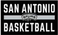 San Antonio Spurs Logo Basketball Customized Flags Banners 100D Polyester 3*5ft