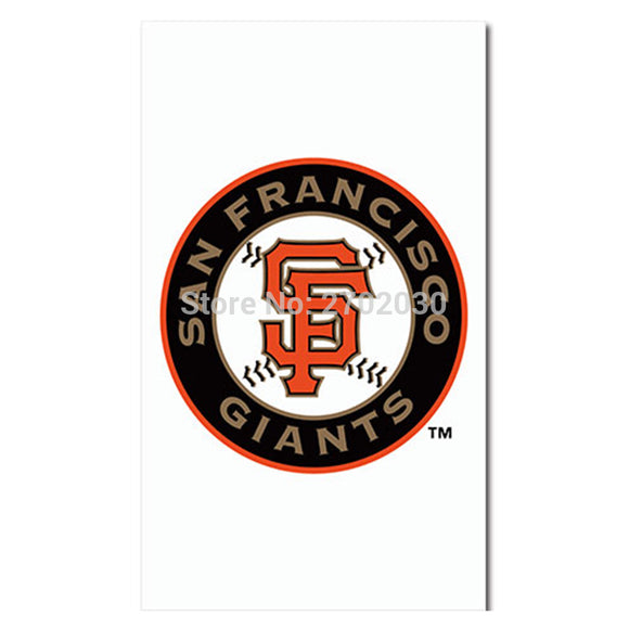Hanging San Francisco Giants Flag World Series Champions Baseball Cub Fan Team Flags Banner 90X150CM Banners Decoration