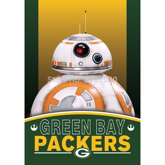 2pcs Green Bay Packers Flag World Series Football Team 27 X 37 Inch Banner Vertical Super Bowl Green Bay Packers Flag Banner