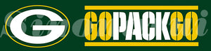 Green Bay Packers GO Tailgate Banners Flags 8X2FT Customized Flag 110g Knitted Polyester 60*240CM