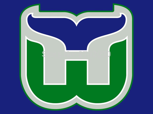 Hartford Whalers Ice Hockey Sports Team 3ft X 5ft Custom Banner With Sleeve Gromets 90*150CM