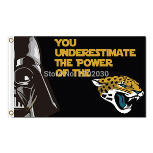 You Underestimate Design Jacksonville Jaguars Flag Football Team World Series Super Bowl Champions Fans 3ft X 5ft Banners