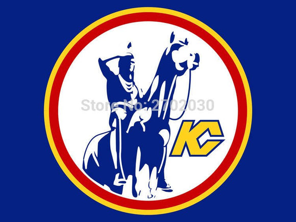 Kansas City Scouts National Ice Hockey Sports Team 3ft X 5ft Custom Banner With Sleeve Gromets 90*150CM