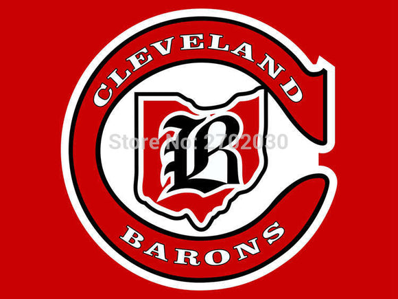 Cleveland Barons Ice Hockey Sports Team Flag 3ft X 5ft Custom Banner With Sleeve Gromets 90*150CM