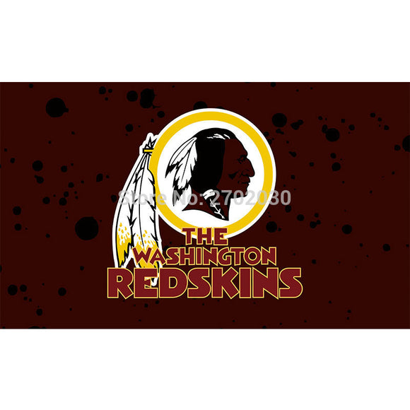 Custom Design Washington Redskins Flag Football Team Flags Super Bowl Champions Banner Fans 3x5 Ft Banners