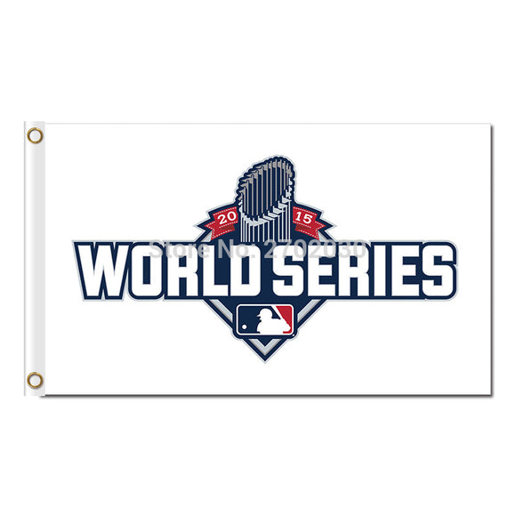 World Series Champions Flag Baseball Fan Super Team Banners Flags And Champions Banner 100D Polyester 3x5ft Championship