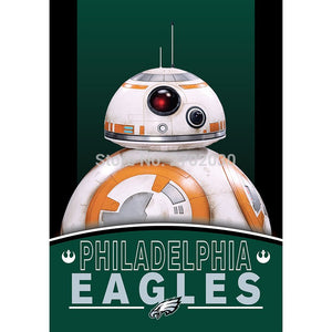 2pcs Philadelphia Eagles Flag World Series Football Team 27 X 37 Inch Banner Vertical Super Bowl Champions Philadelphia Eagles