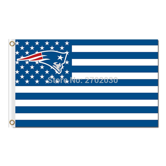 Us New England Patriots America Flags Football Team Banners 3ft X 5ft World Series Banner Super Bowl Champion Custom Flag
