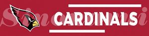 Arizona Cardinals Tailgate Banner Flag 8X2FT Custom Flag 110g knitted polyester 60*240CM