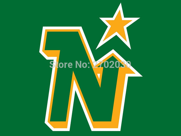 Minnesota North Star National Ice Hockey Sports Team 3ft X 5ft Custom Banners Flags With Sleeve Gromets 90*150CM