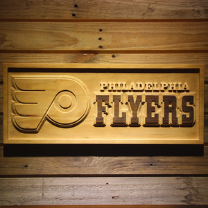 Philadelphia Flyers 3D Wooden Sign