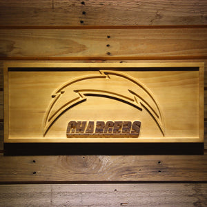 San Diego Chargers 3D Wooden Sign
