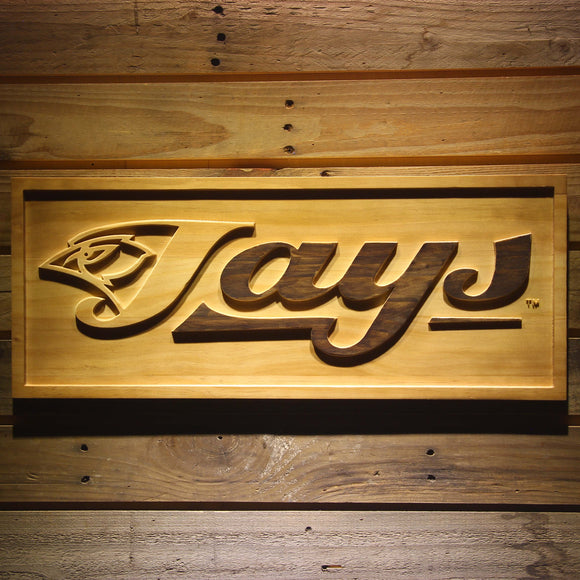 Toronto Blue Jays 3D Wooden Sign