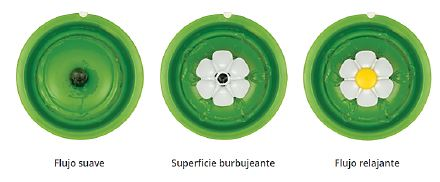 Fuente bebedera flor Cat It, 3 litros