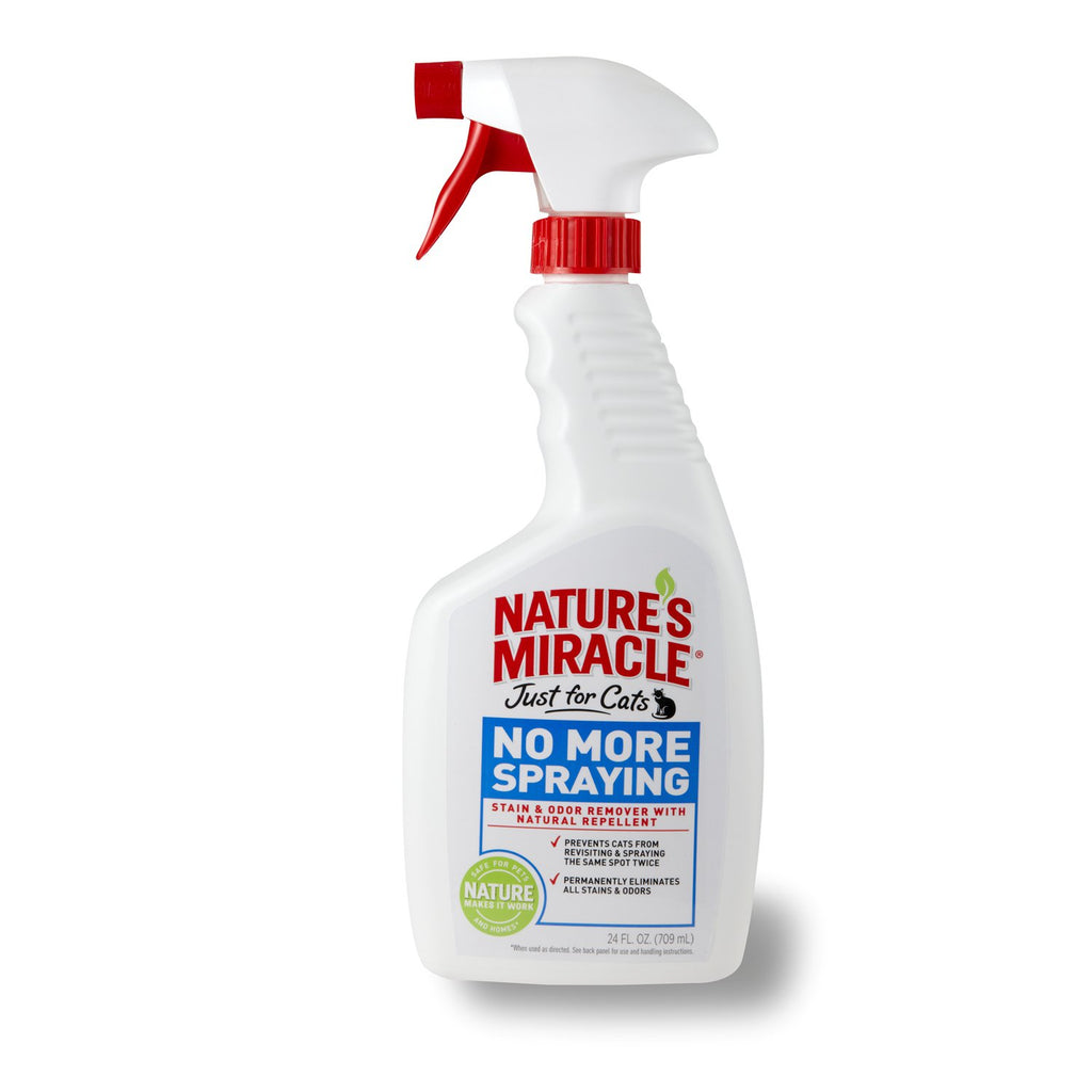Nature´s Miracle no more spraying