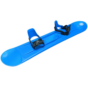 Grizzly Snow 120cm Deluxe Kid's Beginner Blue Snowboard