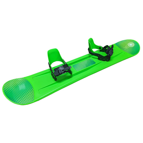 Grizzly Snow 120cm Deluxe Kid's Beginner Green Snowboard