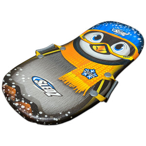 "Sledz Polar Buddies 36"" Foam Snow Sled, New Penguin"