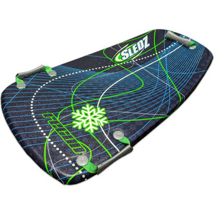 "Snow Daze Recon 36"" Shred Pod Snow Sled, Green"