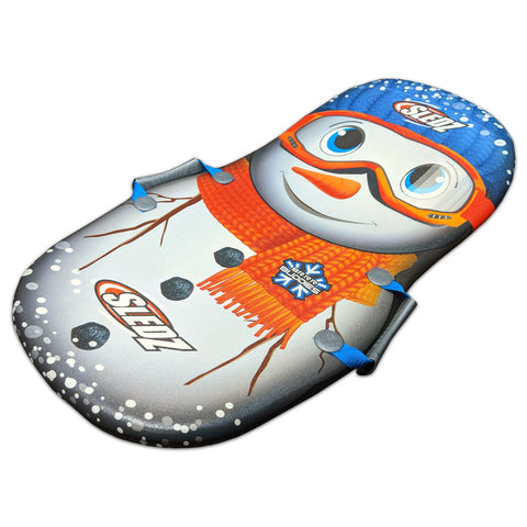 "Sledz Polar Buddies 36"" Foam Snow Sled, Snow Man"