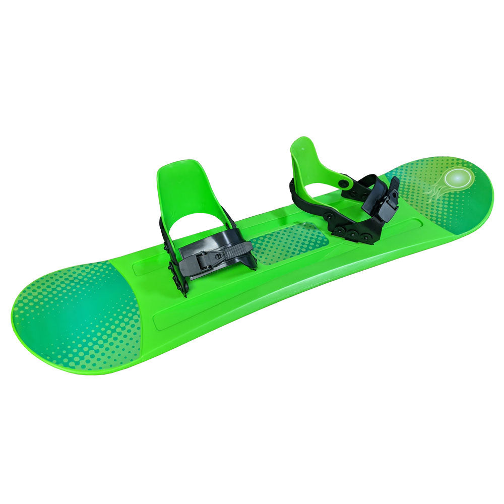 Grizzly Snow 95cm Deluxe Kid's Beginner Green Snowboard