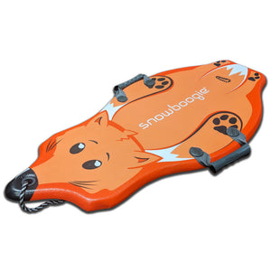 "Snowboogie 36"" Kids Snow Sled, Fox Design"