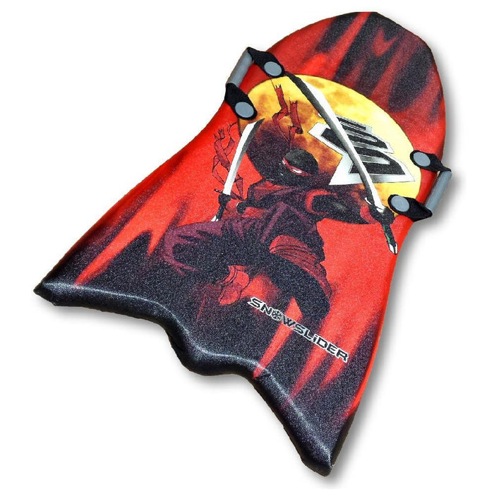 "Classic 39"" Snowslider Foam Kid's Snow Sled with Cool Ninja Graphics"