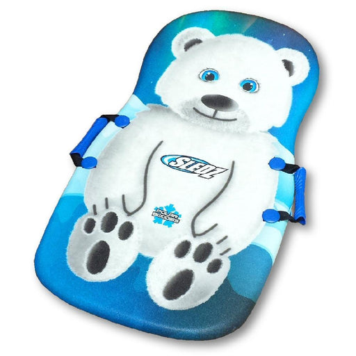 "Sledz Polar Buddies Polar Bear 36"" Foam Snow Sled"