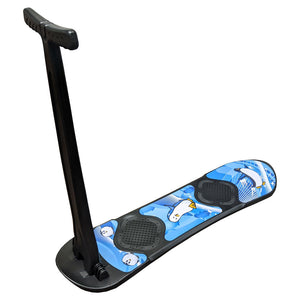 Grizzly Snow 95cm Folding Kids Snow Scooter