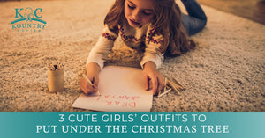3 Cute Girls' Outfits To Put Under The Christmas Tree