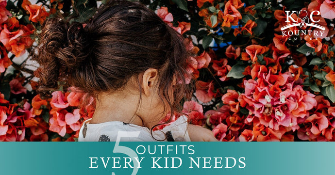 5 Outfits Every Kid Needs