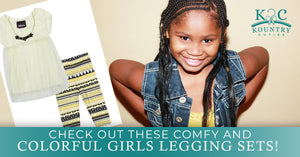 Check Out These Comfy And Colorful Girls Legging Sets!