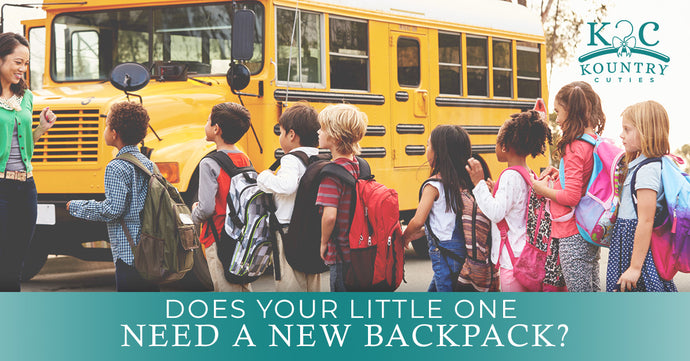 Does Your Little One Need a New Backpack?