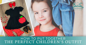 How to Put Together the Perfect Children's Outfit