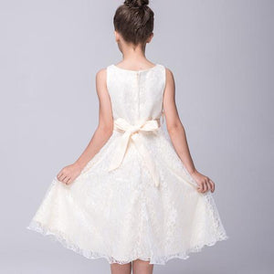 Girl's Formal Dress - Ashley (Ivory)