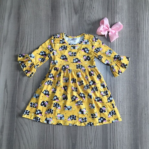 Girl's Moo Cow  Twirl Dress